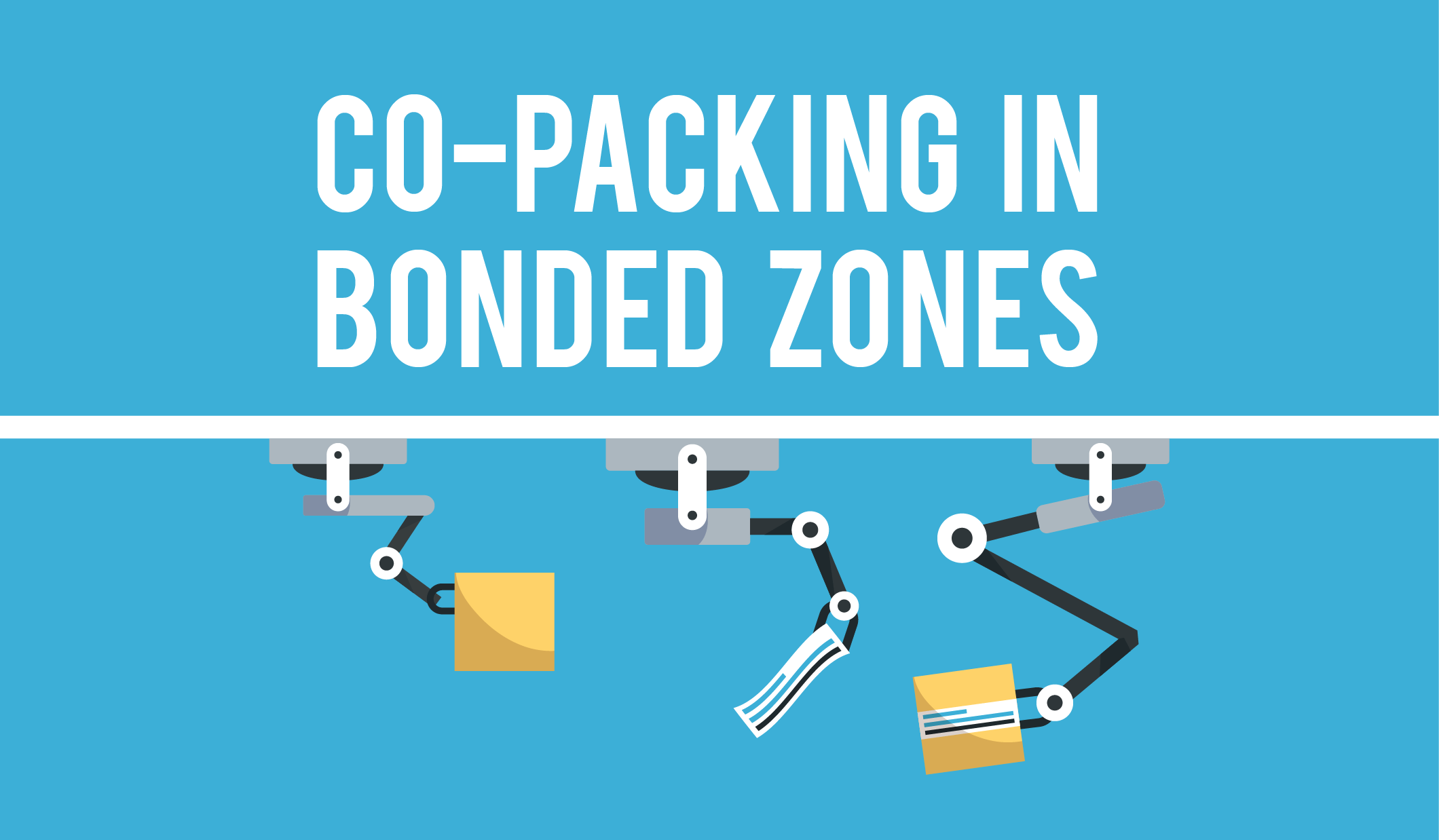 Co-packing in Bonded Zones