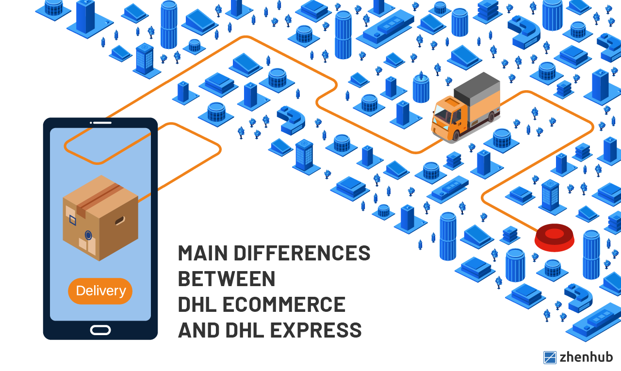 Difference between DHL Ecommerce and DHL Express