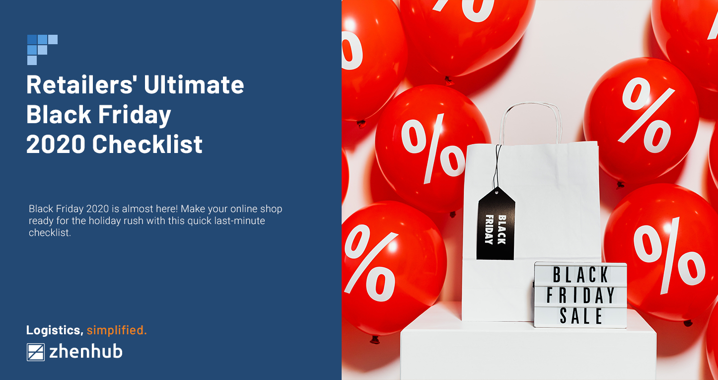 The Ultimate Last-Minute Black Friday 2020 Checklist for Retailers