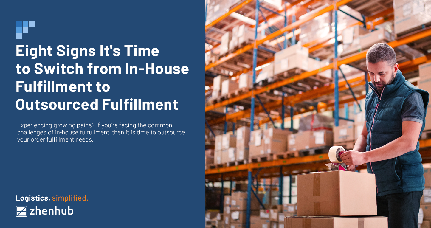 8 Signs it's Time to Switch from In-House Fulfillment to Outsourced Fulfillment