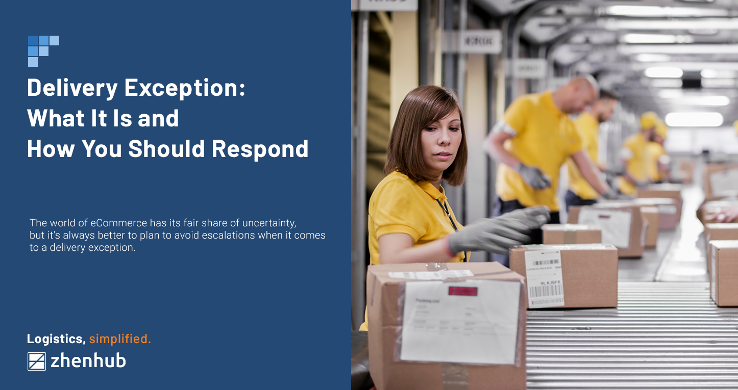 Delivery Exception: What It Is and How You Should Respond