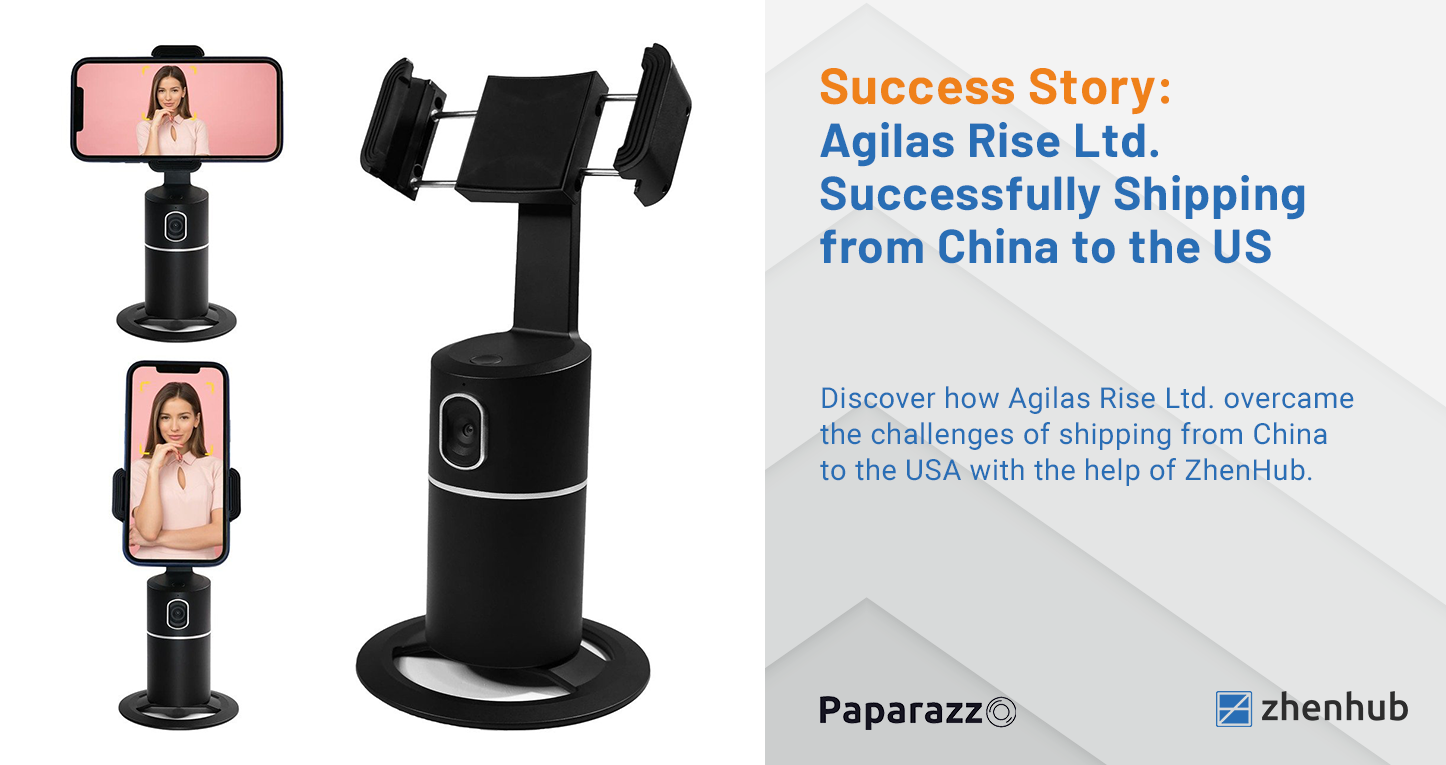 Success Story: Agilas Rise Ltd. Successfully Shipping from China to the USA